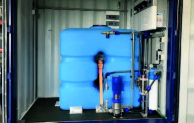 Drinkwater Container 1000 liter